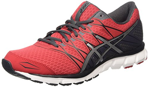 Asics Gel-Attract 4, Herren Laufschuhe, Rot (Racing Red/Silver/Iron 2393), 42 EU (Asics-racing-schuhe)