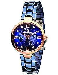 Daniel Klein Analog Blue Dial Women's Watch - DK11396-4
