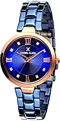 Daniel Klein Analog Blue Dial Womens Watch-DK11396-4