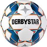 Derbystar Kids Stratos S-Light, 1038500167 Voetbal, wit blauw oranje, 5