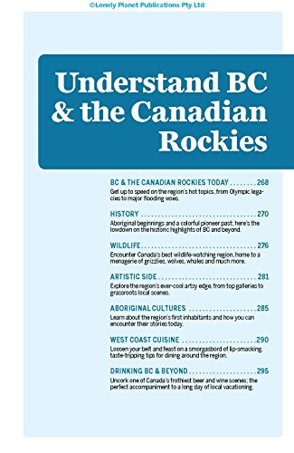 British Columbia & Canadian Rockies (Country Regional Guides) - 13