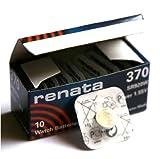10 x Renata 370 Lithium Knopfzelle SR920SW