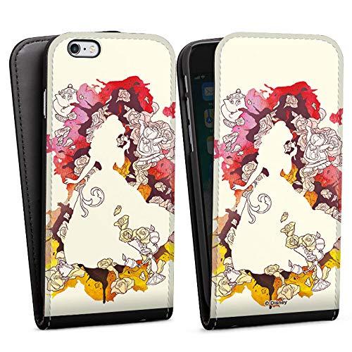 Apple iPhone 6s Flip Case Tasche Hülle Disney Belle Princess