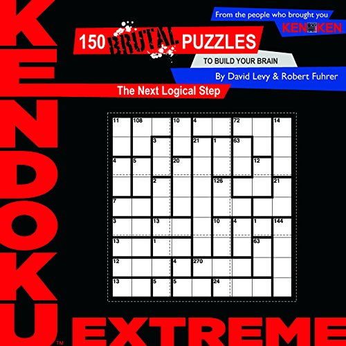 Kendoku: Extreme: 150 Brutal Puzzles to Build Your Brain thumbnail