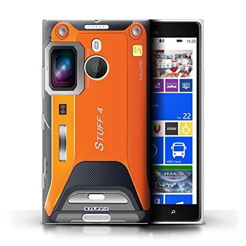 Kobalt® Imprimé Etui / Coque pour Nokia Lumia 1520 / Millésime conception / Série Appareil Photo Sportif