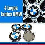 4 centre de roue BMW logo jante insigne embleme