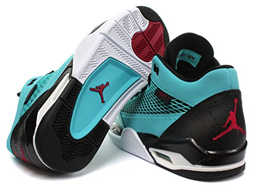 Nike Air Jordan Flight Club 80s Uomo Basketball Scarpe Gamma Blue/Gym Red-Black