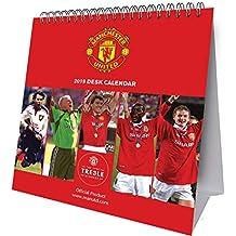 Manchester United Desk Easel Official 2019 Calendar - Desk E