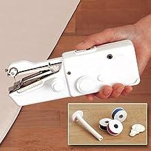 Máquina de coser portatil costura maquina coser pequeña mws404