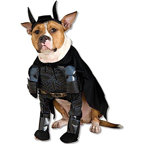 TDK Batman-Kostüm für Hund (Batman Dark Knight Hunde Kostüm)