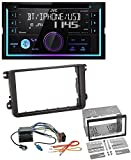 caraudio24 JVC KW-R920BT Bluetooth 2DIN AUX CD MP3 USB Autoradio für VW Caddy Golf 5 6 Jetta ab 2003