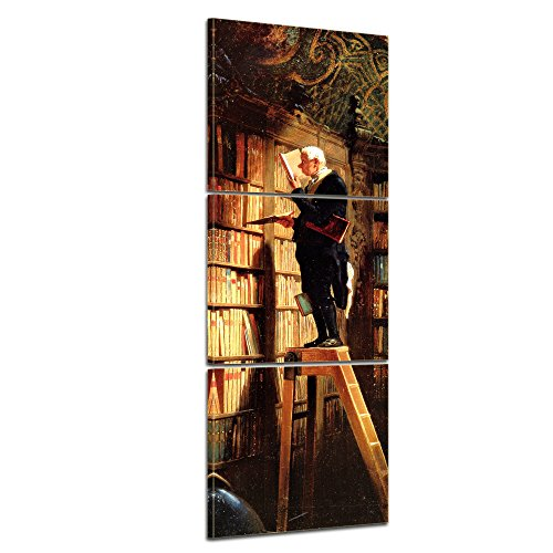 bilderdepot24-wall-art-canvas-picture-panorama-carl-spitzweg-old-masters-the-bookworm-2362-inch-x-70