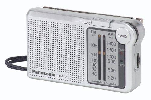 Panasonic RCCD600 Radio Reloj, 2 pieza radio reloj CD con doble operación, altavoces independientes