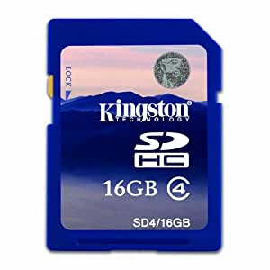 Kingston 16GB SDHC Memory Card For Canon Powershot SX240 HS Digital Camera
