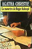 LE MEURTRE DE ROGER ACKROYD - EDITIONS LIVRE DE POCHE N° 617 - 01/01/1984