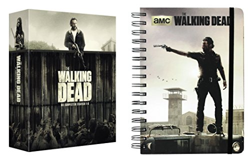 The Walking Dead - Die kompletten Staffeln 1 2 3 4 5 6 + Notizbuch 27 DVD Box Geschenk Set LIMITED EDITION - Walking Dvds Box-sets Dead