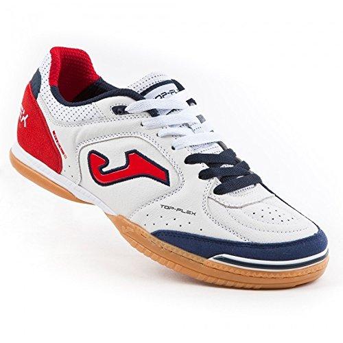 Joma Top Flex, Chaussures de Futsal Mixte Adulte Bianco