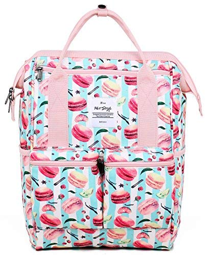 HotStyle DISA Mochila Floral Vintage Mujer Notebook