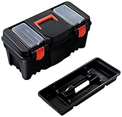 Terra 5900367100 Werkzeugkiste aus Kunststoff 55x26,7x27 cm