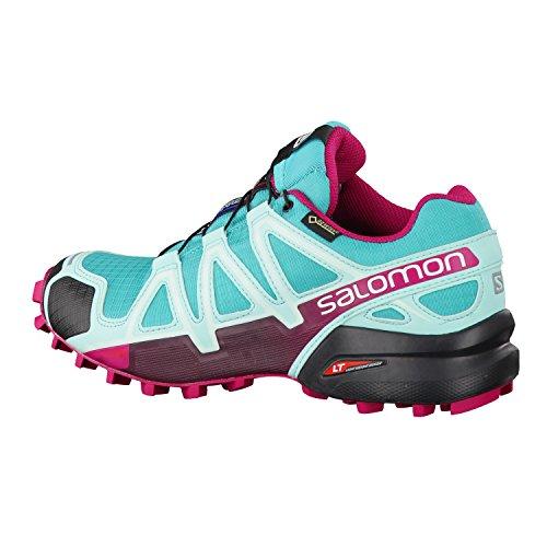 Salomon Speedcross 4 Gtx W, Chaussures de Trail Femme Turquoise