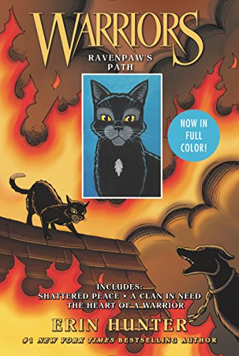 Warriors: Ravenpaw's Path: Shattered Peace, A Clan in Need, The Heart of a Warrior (Warriors Manga) (English Edition)