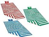 Stranddecke Campingdecke Pickinckdecke Strandmatte # Sandabweisende Kompakt Leicht mit Tragegriffe 180 x 90 cm