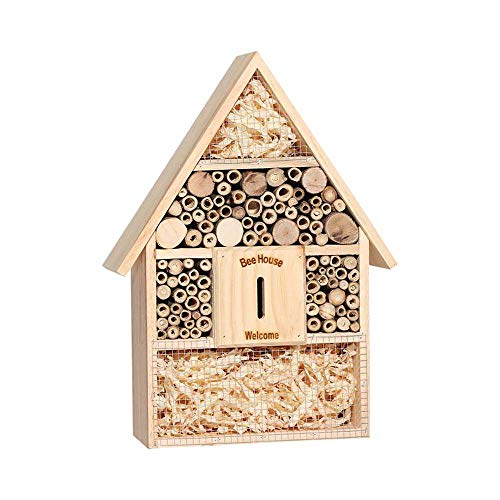 SuyunPP Insektenhaus/Birke Ladybug Bee Refuge/Insektenhotel/Garden Garden Ranch