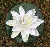 Wasserlilie Schwimmend Lotusblüte Lotusblume Seerose 22 cm groß künstliche Blumen