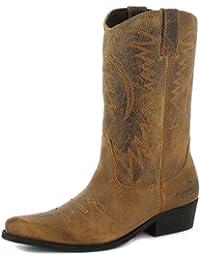 Wrangler Creek 24 Tan, Chaussures, Bottes, Bottes, Brun, Male, 40