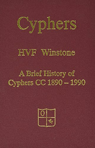 Cyphers Cricket Club: A History of Cyphers Cricket Club