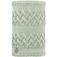 Original Buff Knitted & Polar Neckwarmer Savva, Braga De Cuello Para Adulto, Beige (Savva Cream/Grey Vigore), Adulto/Talla Unica