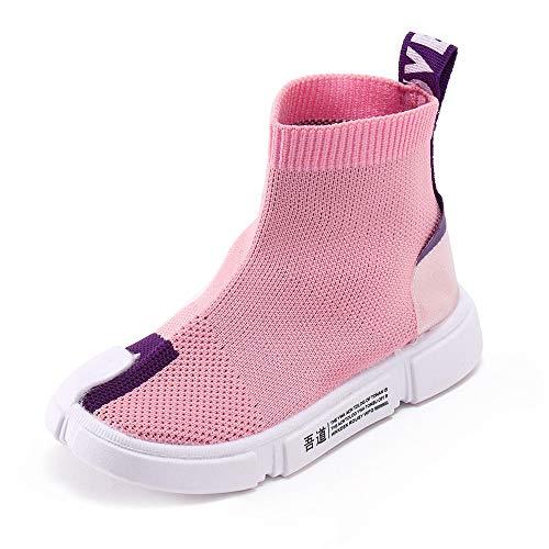 YanHoo Zapatos niños Carta niños Calcetines Zapatos