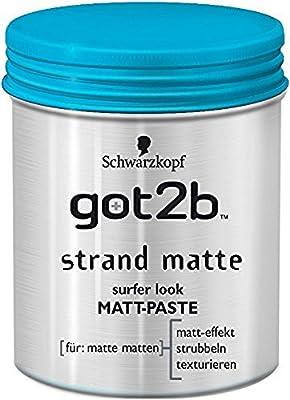 Schwarzkopf Got2b Strand Matte