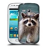Head Case Designs Kleiner Waschbär Bekannte Tiere Snap-on Schutzhülle Back Case für Samsung Galaxy S3 III mini I8190