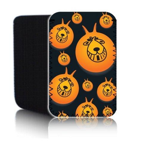 Preisvergleich Produktbild 'Biz-E-Bee Retro 80' s Hüpfball '17,8cm Schutztasche Neopren für Alcatel One Touch Pixi 317,8cm Tablet–Stoßfest & wasserabweisend Abdeckung, Hülle, Tasche,–Schnell Schiff UK