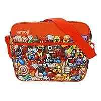 Emojis Courier Messenger Bag, 34 cm, Red
