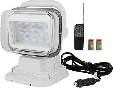 LED Auto Suchscheinwerfer 60W Suchlicht Fernbedienung Wasserdicht Boot Outdoor