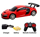Zest 4 Toyz Rechargeable Remote Controlled 4 Channel Radio Control Audi Like Mini
