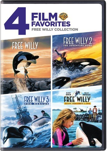 4 Film Favorites: Free Willy Collection (Free Willy / Free Willy 2: The Adventure Home / Free Willy 3: The Rescue / Free Willy 4) [DVD] [US Import] (4 Film Favorites Dvd)