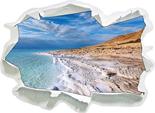 Il Mar Morto durante il giorno, la carta 3D autoadesivo
