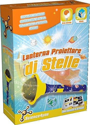 Science4you - Lanterna Proiettore di Stelle - Gioco Educativo