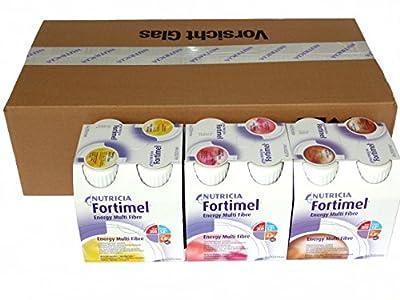 FORTIMEL Energy Multifibre Mischkarton 6400 ml Flüssigkeit