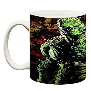 ANNI69 Presents Green Monster Standing Coffee Mug Best Gift Mug for Coffee and Holi Gift