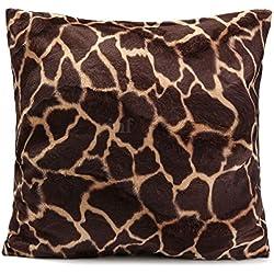 dahanbl Creative funda de almohada estampado Animal Leopardo Cebra Funda para cojín de coche