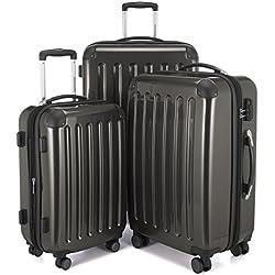 Hauptstadtkoffer Juego de maletas, gris (negro) - 82782064