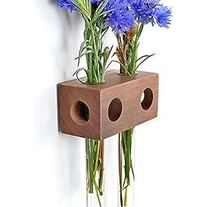 Fenstervase Apfel 2er Blumenvase Test Tube Vase Flower Vase