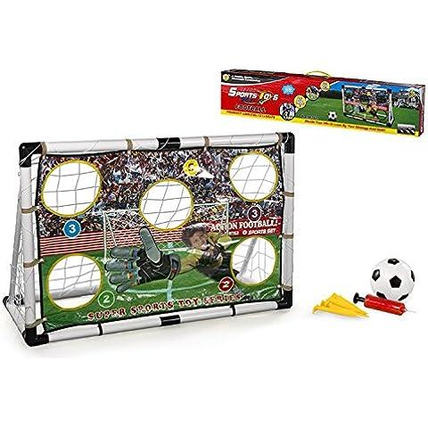 Color Baby - Portería de fútbol, 121 x 79 x 54 cm (42163)