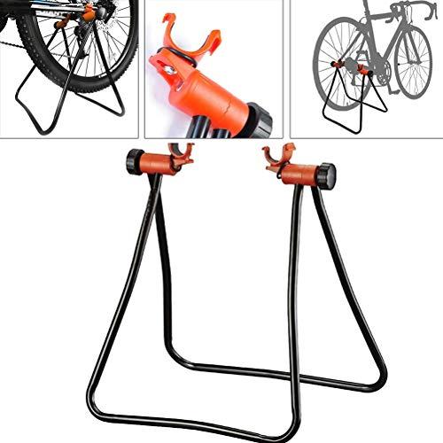 LZHJ Bastidor de estacionamiento Ajustable, Soporte para Bicicletas, Bastidor de Almacenamiento de Mantenimiento...