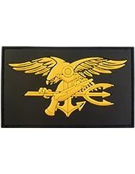 US Navy Seals DEVGRU Insignia Morale NSWDG USSOCOM PVC 3D Hook&Loop Patch