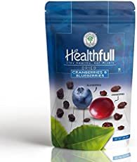 Healthfull Dried Cranberries & Blue Berry Mix, 200g.